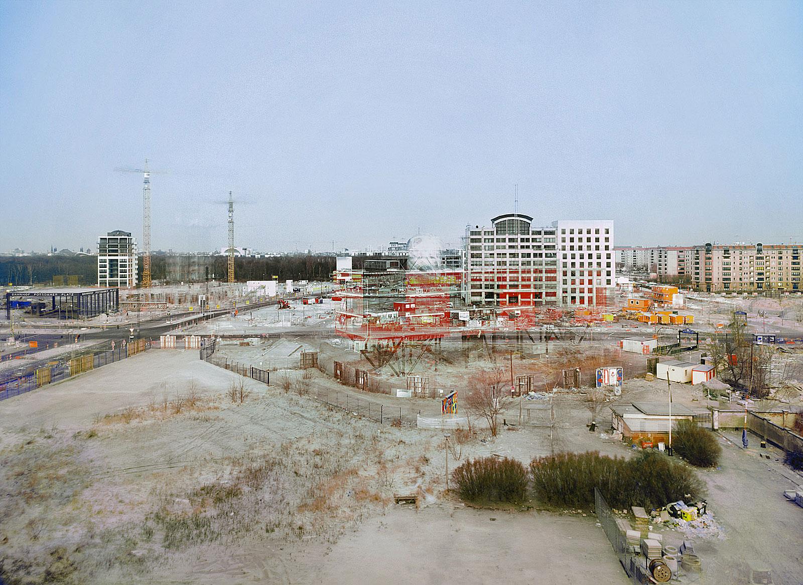 Abbau Infobox, Berlin (16.1. - 4.4.2001)