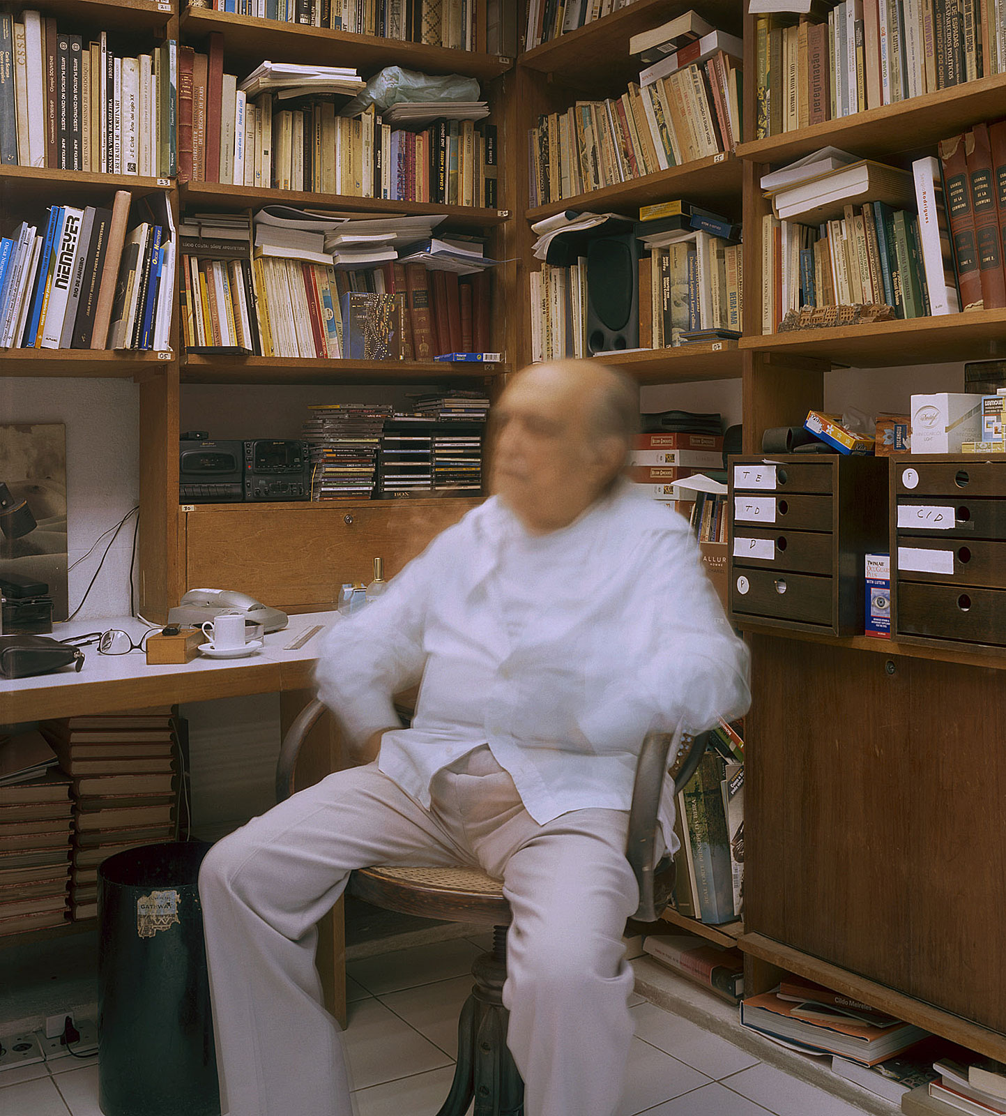 Oscar Niemeyer (13.12 - 13.17 Uhr, 22.10.2003)