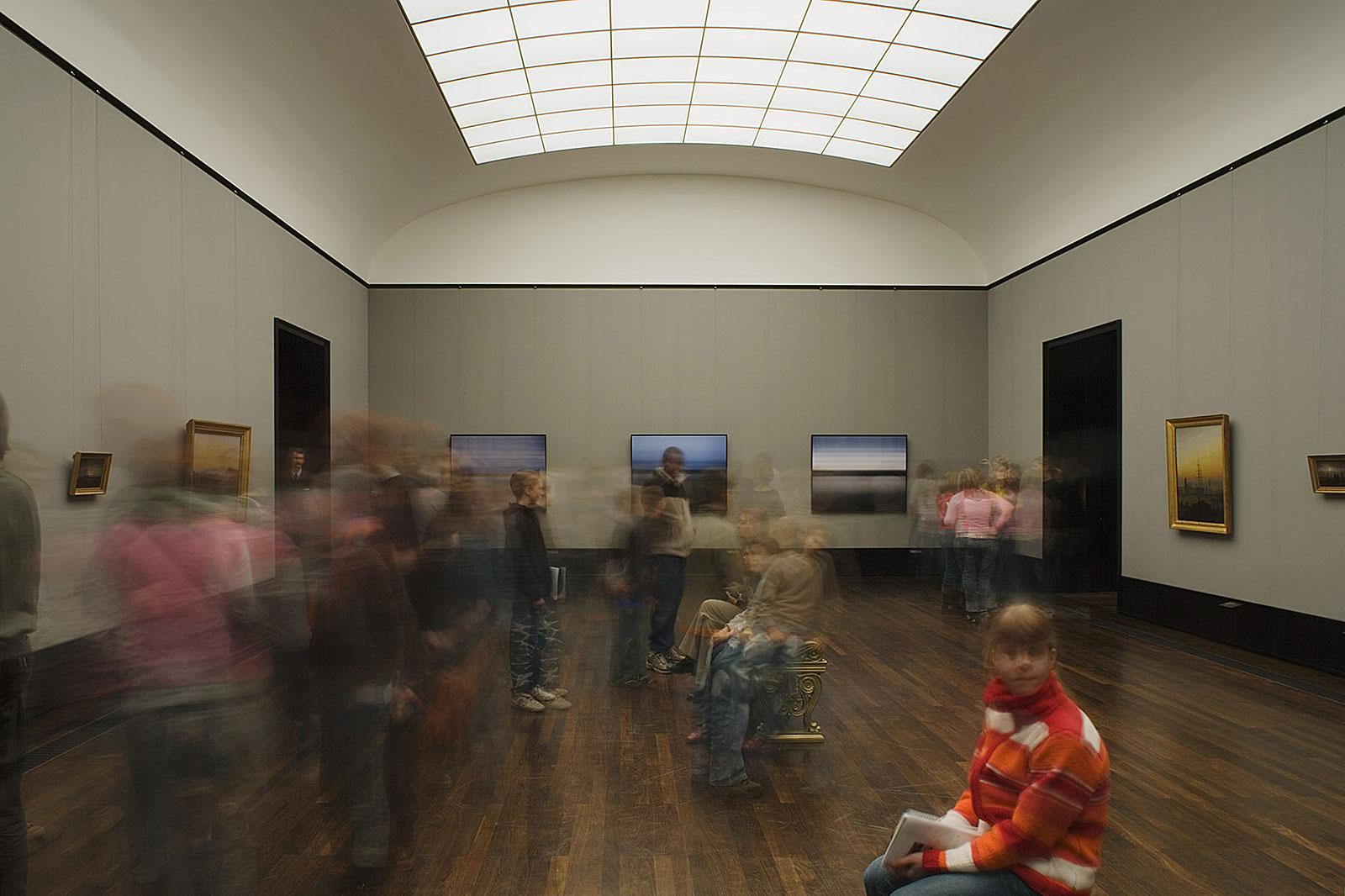 Alte Nationalgalerie Berlin (11.43 - 11.46 Uhr, 22.3.2006)