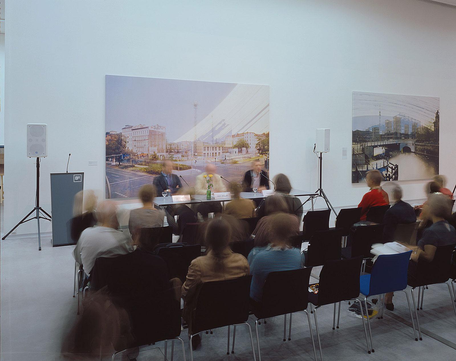 Pressekonferenz, Berlinische Galerie (11.22 - 11.27 Uhr, 17.9.2009)