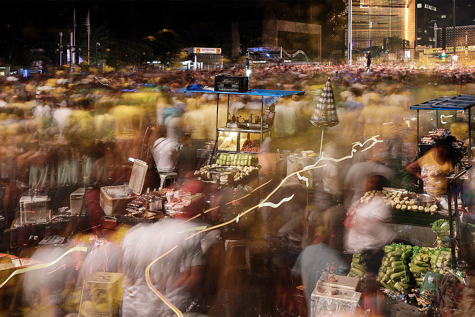Manifestação, Avenida Paulista (20.17 - 20.34 Uhr, 17.4.2016)