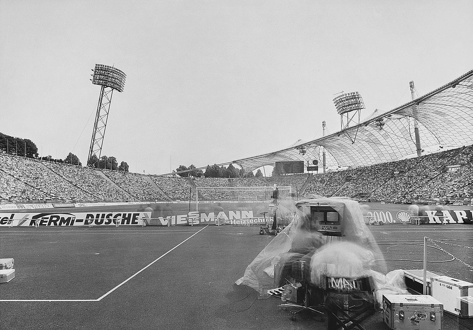Bayern München - Bayer Leverkusen, Olympiastadion München (15.30 - 17.20 Uhr, 15.5.1993)