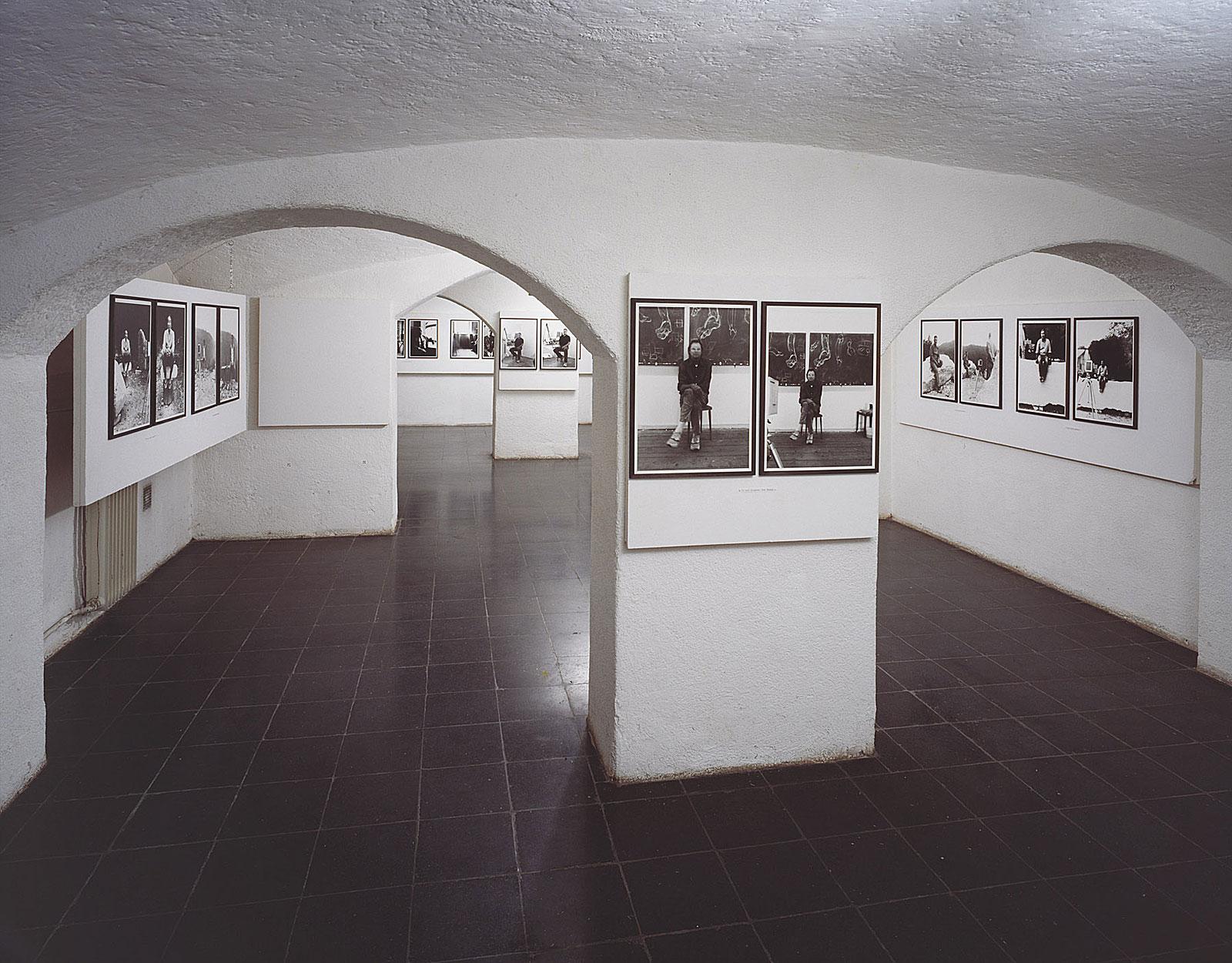 """""""Lochkamera-Portraits"""", Hubert Maier & Michael Wesely, Kellergalerie der Bayerischen Staatslehranstalt für Photographie"""