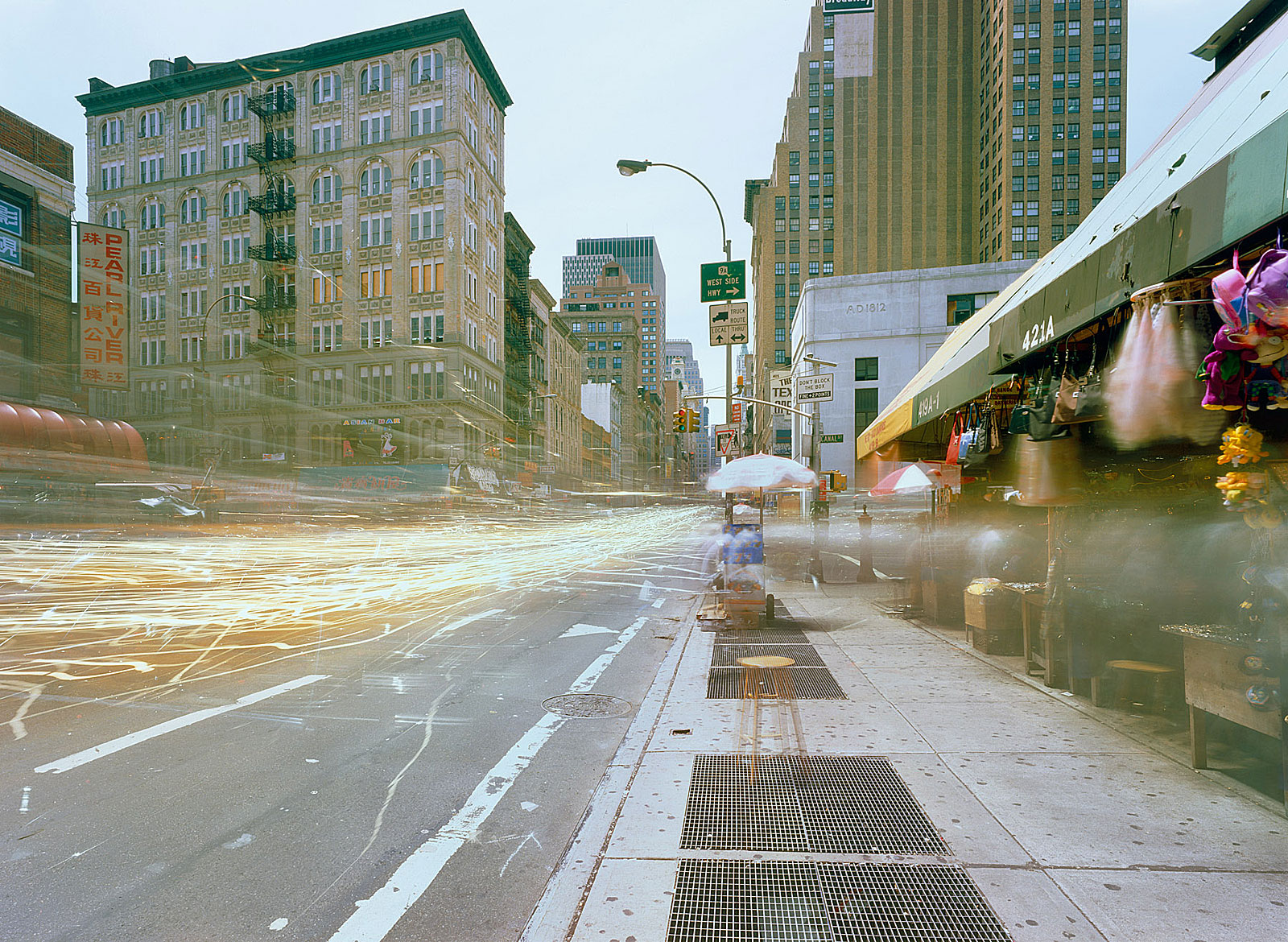 Broadway and Canal Street, New York (16.33 - 17.33 Uhr, 24.6.1998)
