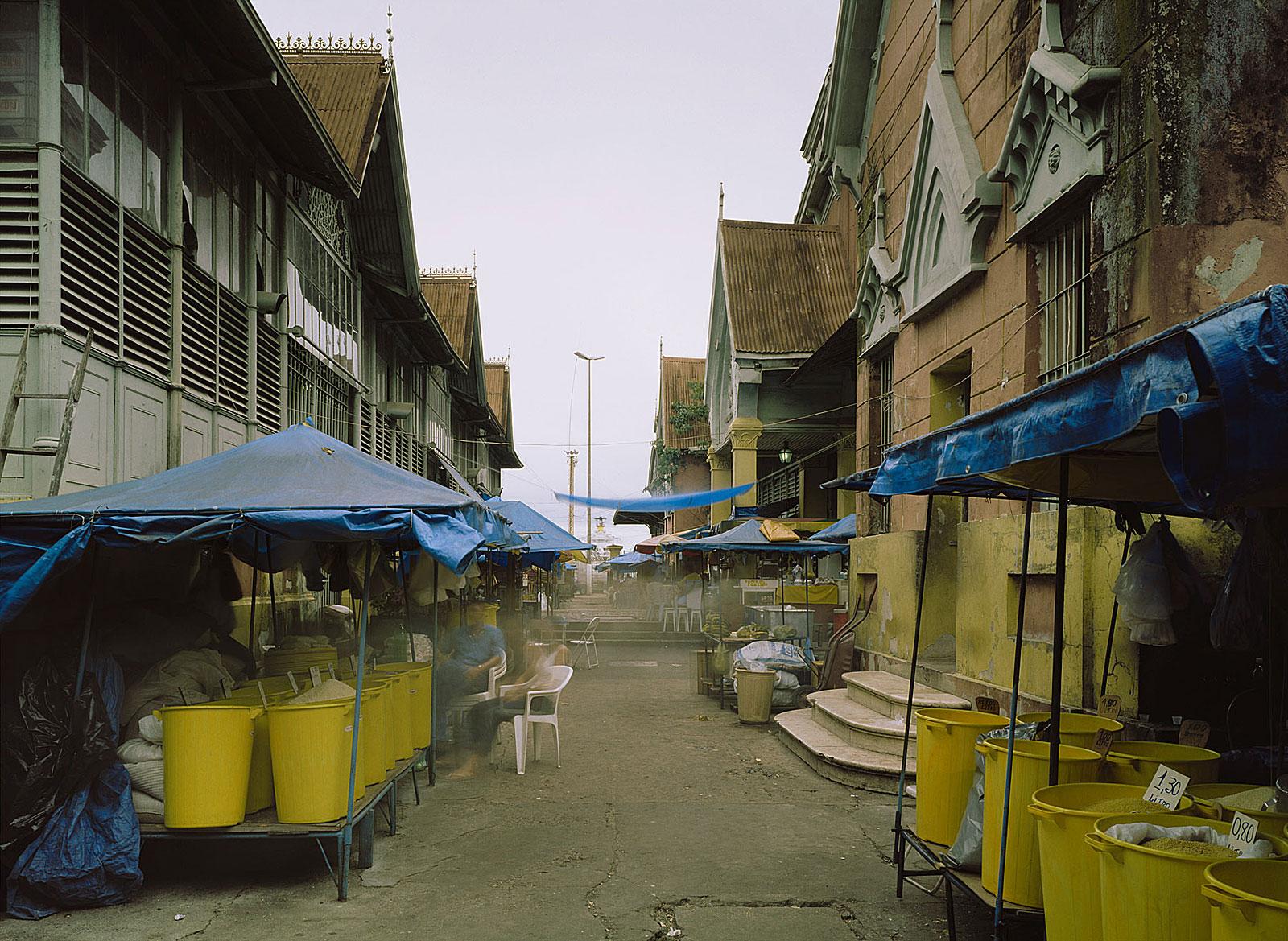 Mercado Adolpho Lisbôa, Manaus (11.26 - 11.36 Uhr, 28.7.2003)