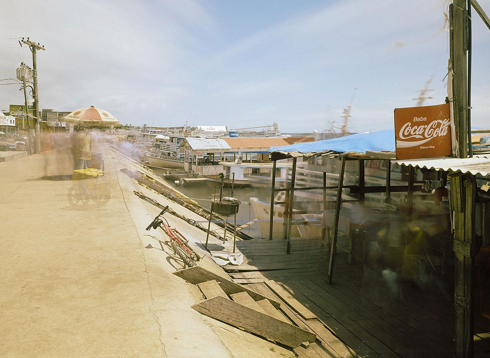 Cais, Santarém (11.32 - 11.42 Uhr, 31.7.2003)