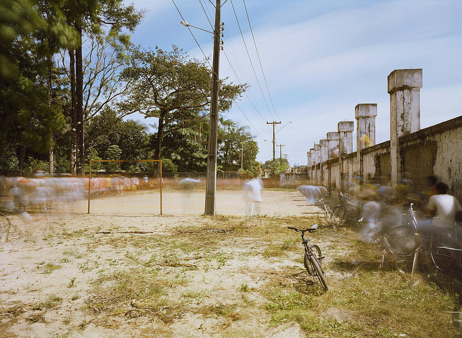 Jogo de futebol, dia dos pais, Rosário (9.45 - 9.55 Uhr, 10.8.2003)