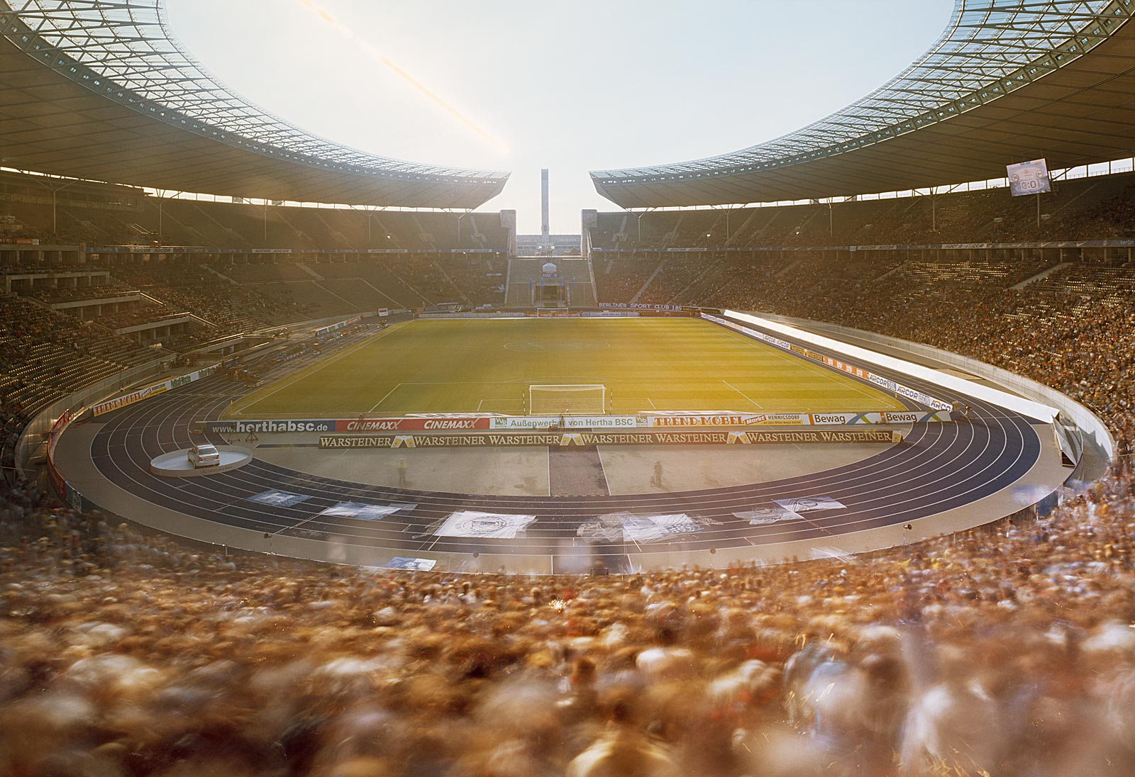 Hertha BSC Berlin - DSC Arminia Bielefeld, Olympiastadion Berlin (15.30 - 17.20 Uhr, 19.3.2005)