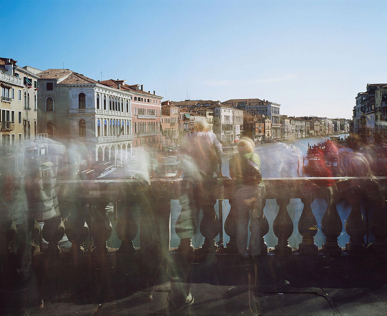 Ponte di Rialto, Venezia (17.40 - 17.45 Uhr, 2.6.2009)