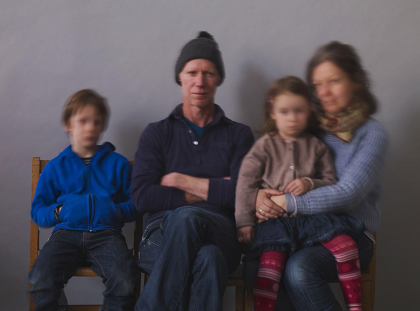 Oscar, Charles, Nico and Lucinda (16.46 - 16.51 Uhr, 11.2.2012)