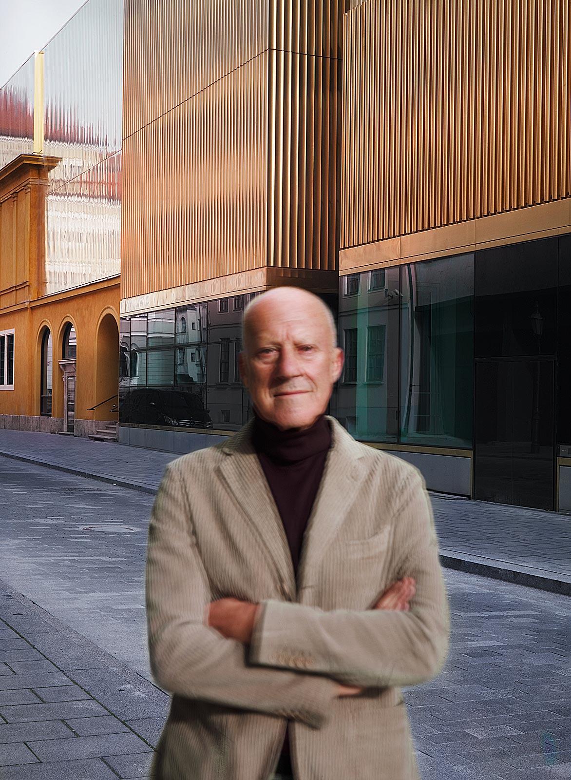 Norman Foster (13.02 - 13.07 Uhr, 10.11.2012)