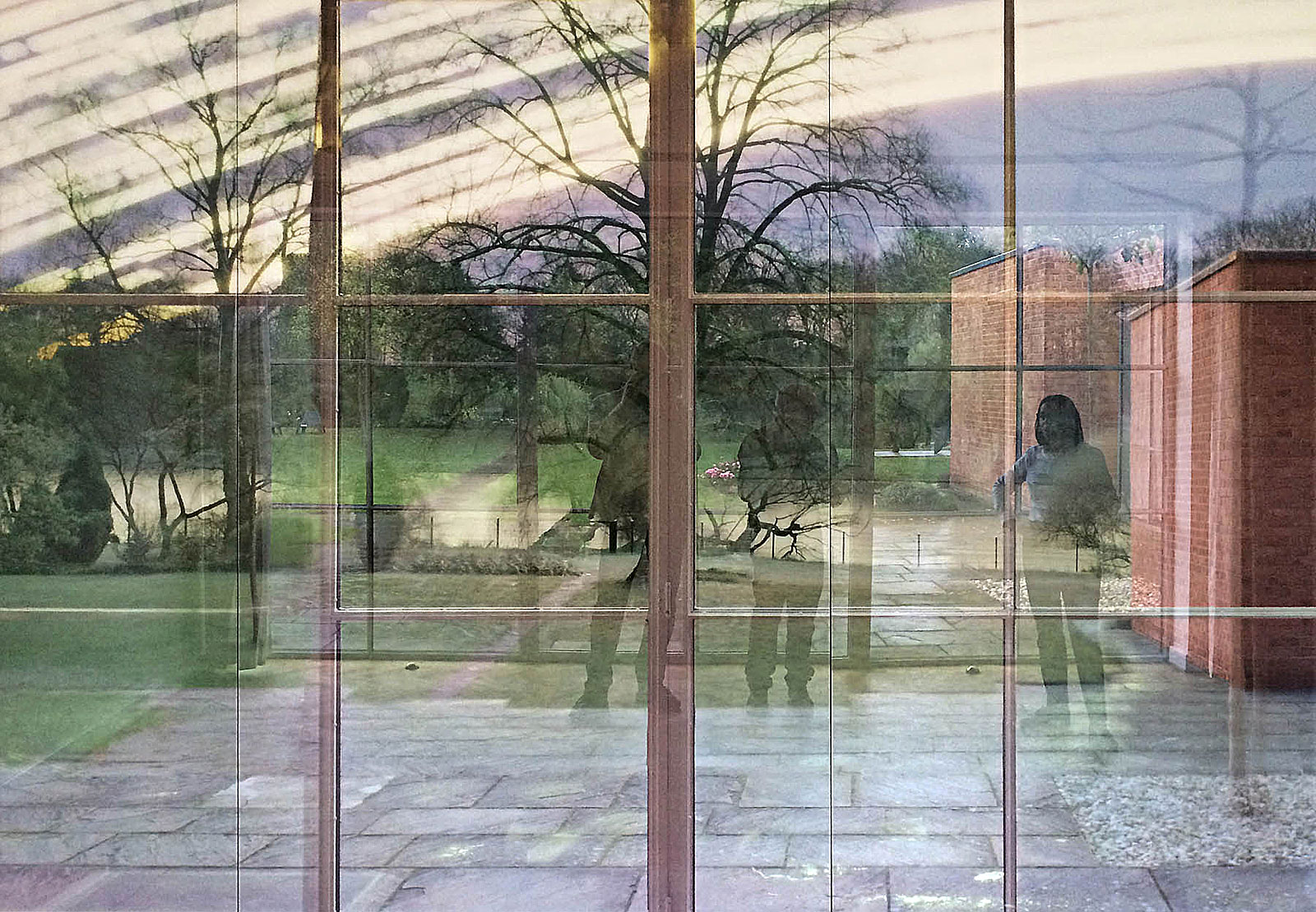 THE EPIC VIEW Michael Wesely, Mies van der Rohe Haus (18.9.2015)