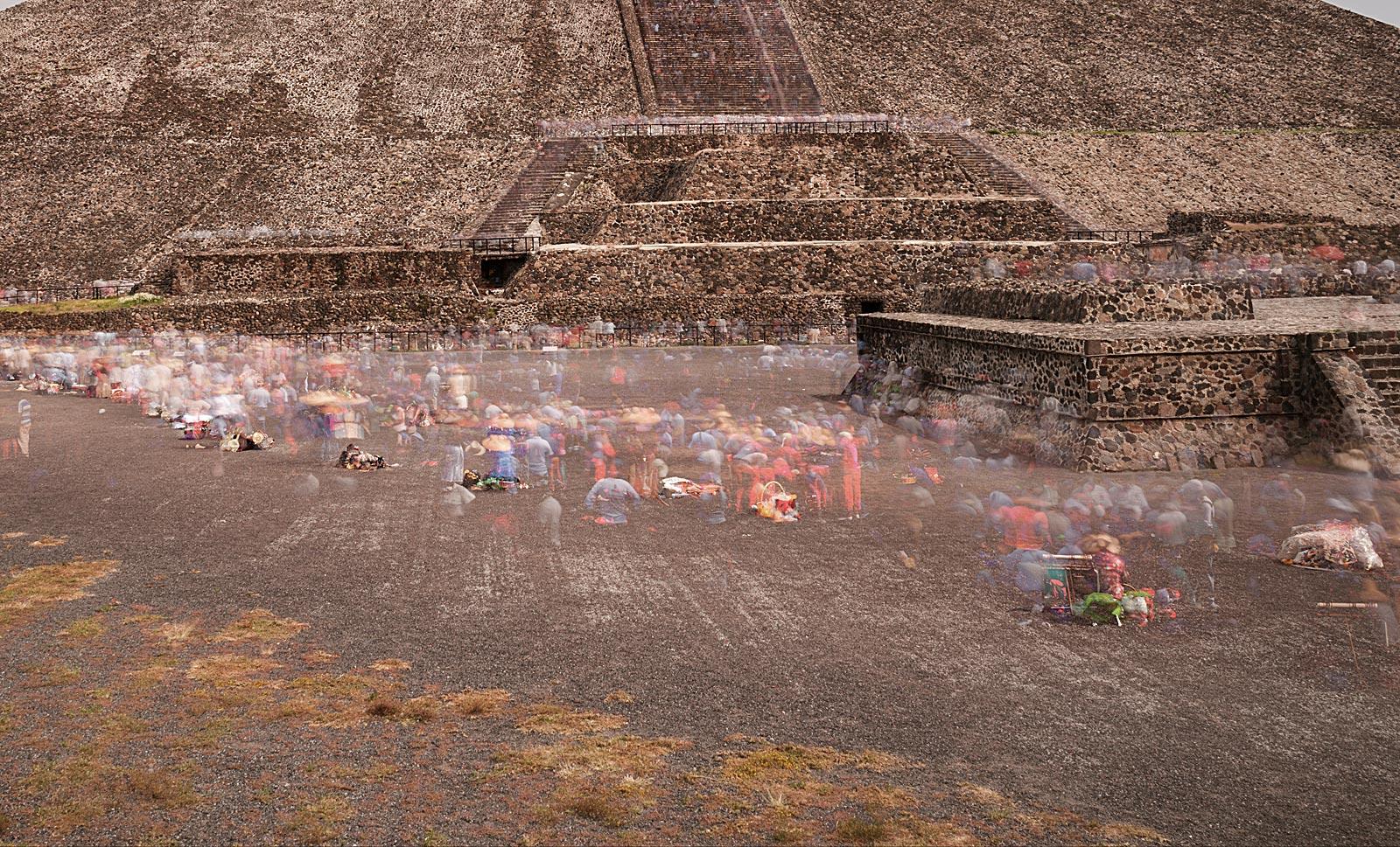 Teotihuacán (13.35 - 17.59 Uhr, 25.10.2015)