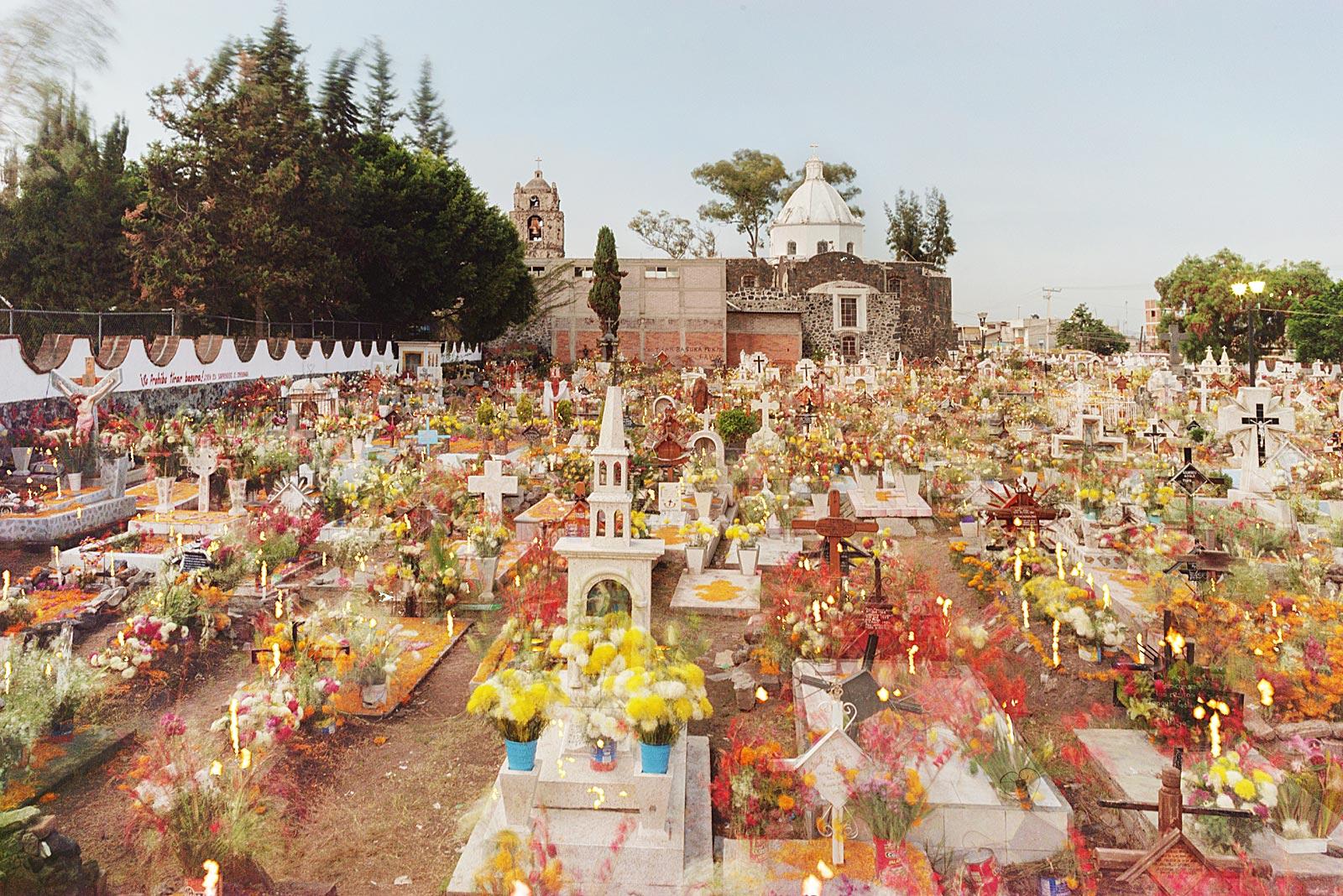 El Panteón Mixquic (1.11. - 7.11.2015)