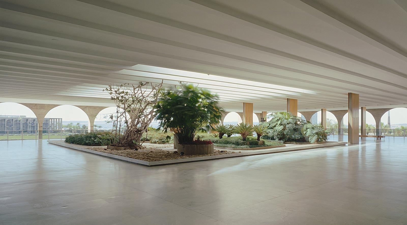 Jardim Interno, Palácio Itamaraty, Brasilia