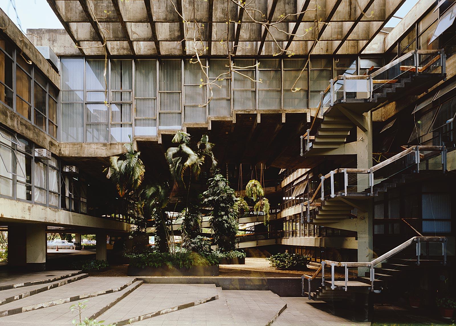 Reitoria, Universidade de Brasília, Brasilia